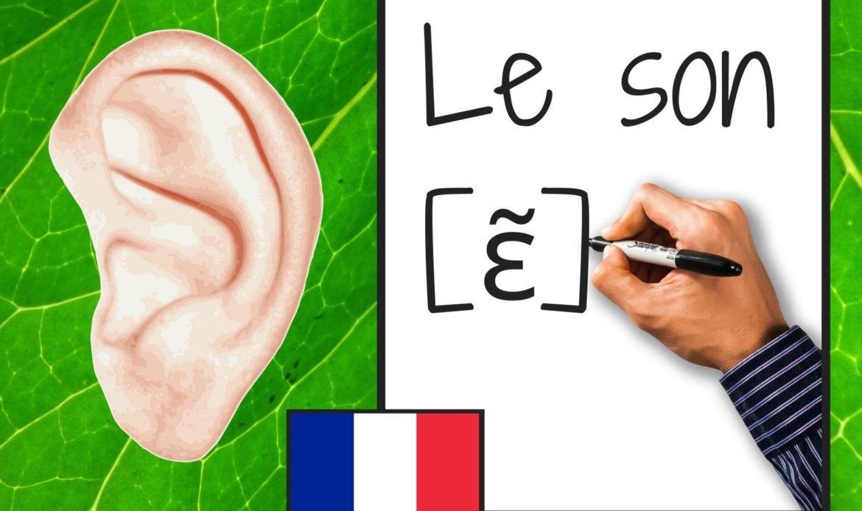 Les sons  [ ɛ̃ ]  et leurs graphies, in, im, ein, ain, aim, yn, un, um …