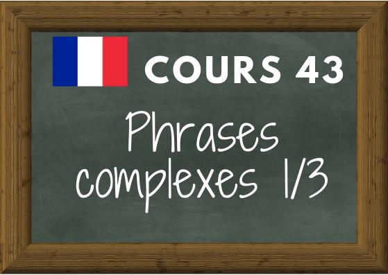 COURS DE FRANÇAIS 43, le discours indirect