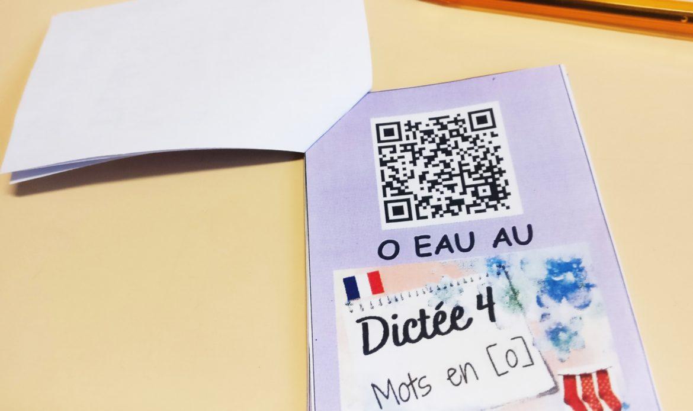 DICTEES DE MOTS EN FRANÇAIS : index de toutes les vidéo (QR codes à imprimer ou liens à cliquer !)