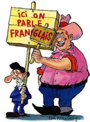 Les Anglais parlent français sans le savoir !